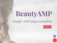 Mobirise AMP HTML Page Builder v4.7.2 - BeautyAMP theme!