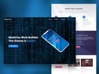 Mobirise Web App Landing Page Template Builder | BusinessM4