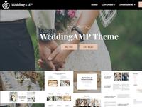 Mobirise AMP Site Maker v4.7.7 - WeddingAMP!