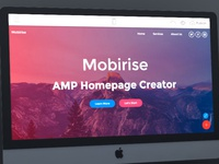 Mobirise AMP Homepage Creator v4.7.8 is out!
