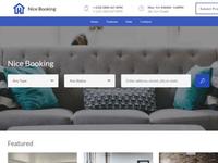 Mobirise WYSIWYG Website Builder v4.8.1 - Nice Booking Template!