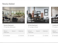 Mobirise Estate Agent Website Template - Easy rent!
