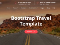 Mobirise v4.8.1 - Bootstrap Travel Template!