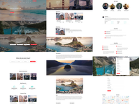 Mobirise 4.8.1 - Travel Agency Design Template!