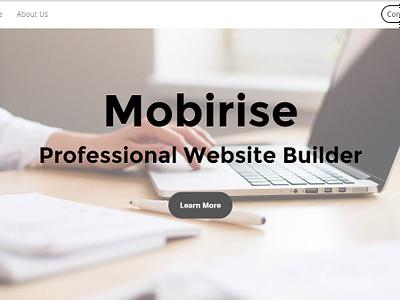 Mobirise Professional Website Builder v4.8.4 is out! mobirise website creator download website maker jquery design webdevelopment html5 free software html css clean website builder responsive website webdesign web mobile bootstrap