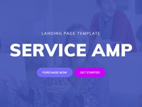 Mobirise Basic HTML Page Template - ServiceAMP!