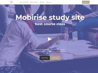 Mobirise study site - best course class