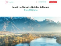 Mobirise Website Builder Software - TravelM4 theme