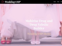 Mobirise Drag and Drop Vebsite Builder - WeddingAMP theme
