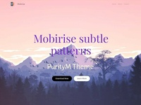 Mobirise Subtle Patterns - PurityM Theme