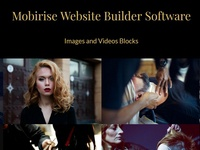 Mobirise Website Builder Software - Images and Videos Blocks