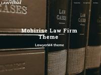 Mobilise Law Firm Theme  - LawyerM4 theme