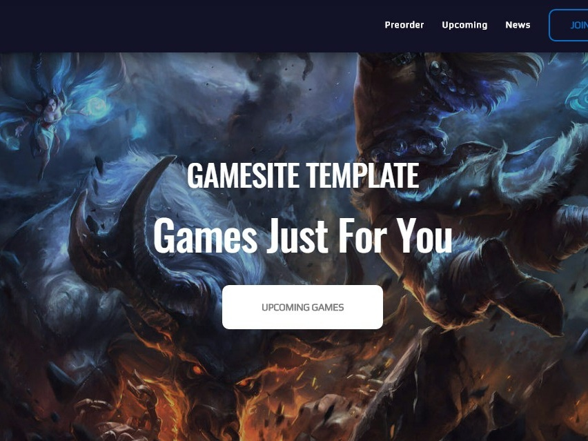 Mobirise Web Design Software Gamingamp Theme By Mobirise Builder On Dribbble