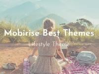 Mobirise Best Themes - Lifestyle Theme