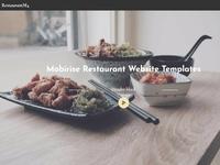 Mobirise Website Templates - RestaurantM4 Header block