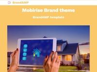 Mobirise Brand Theme - BrandAMP Template