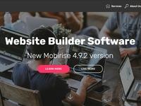 Website Builder Software - New Mobirise 4.9.2 version