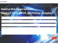 Mobirise Web Design Software - Contact Form HTML