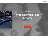 Mobirise Web Page Creator - Headers Block of  WorkshopAMP Theme