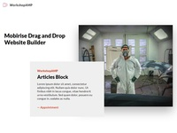 Mobirise Drag and Drop Website Builder - Articles Block