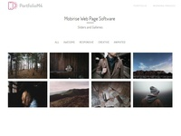 Mobirise Web Page Software -  Sliders and Galleries