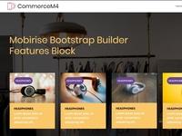 Mobirise Bootstrap Builder - Features Block