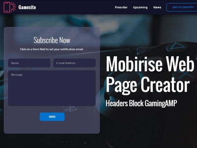 Mobirise Builder   Dribbble