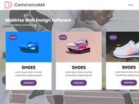 Mobirise Web Design Software —  Features Block Commerce M4