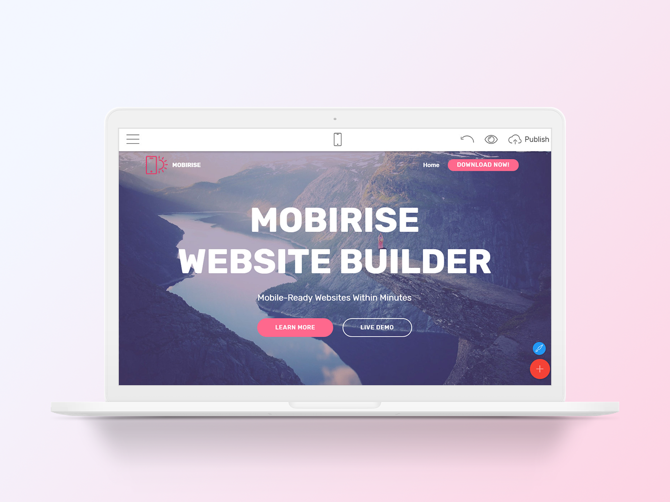 Mobirise Offline Website Builder V4 10 5 Is Out By Mobirise Builder On Dribbble