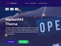 Mobirise Website Builder | MarketM4 Theme!