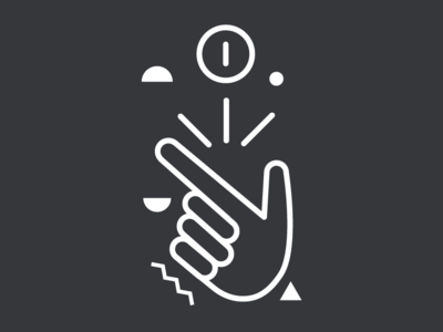 002 Money hand click coin outline icons illustrator design illustration icon vector simple