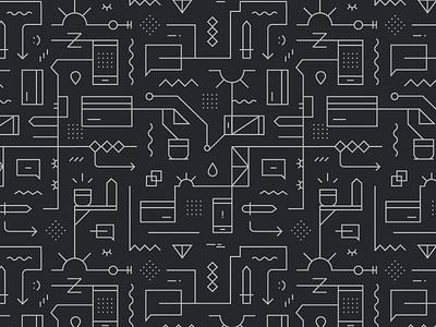 Geometric icon pattern icon pattern seamless pattern seamless geometric icons pattern