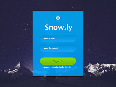 Snow Sign Up
