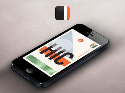 HIC Splash & app icon app icon splash mobile iphone