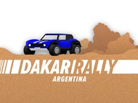 Dakar Rally Graphic 1