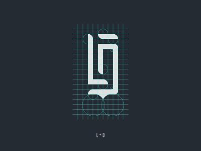 LD Logo typogaphy monogram ldlogo dlogo llogo minimalism logo ld illustrator graphic branding design