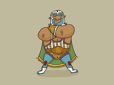 Character Quest Day 23: Wrestler