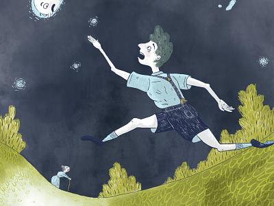 Howl's Moving Castle 2 book illustration kid lit art illustrator fantasy cartoon sketch comic line art illustration