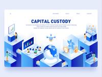 2.5d illustration for inVault — Capital Custody