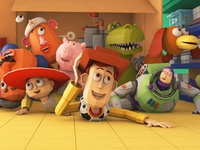 Toy Story × Lowpoly