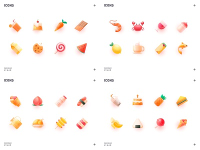 2018 Top4 Shots 张小哈 chicken peach cafe sandwich carrots watermelon ice cream chocolate milk cake carrot chocolate juice banana wine lemon icons icon food food icons
