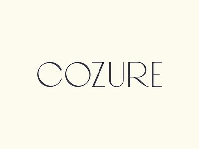 Cozure Brand Design monogram identity typography logotype branding design icon fashion logo brand design logo design fashion brand fashion logo
