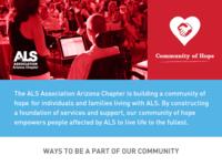 Graphics for ALS Association