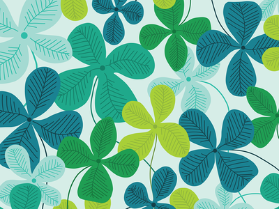 Clover pattern for Day 11/100