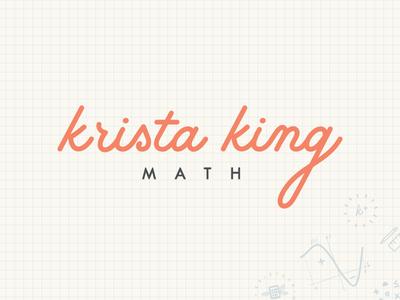 Krista King Math | Final Logo