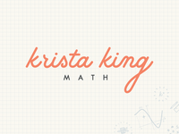 Krista King Math | Final Logo