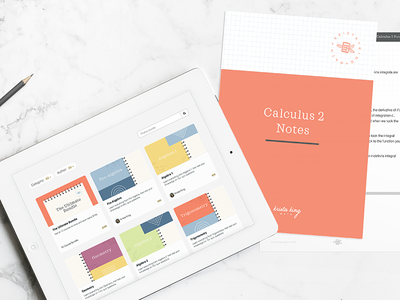 Krista King Math | Brand Collateral