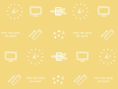 Krista King Math | Brand pattern