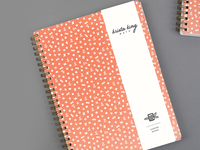 Krista King Math | Patterned notebook