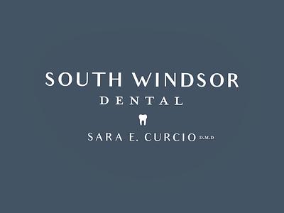 South Windsor Dental   Brand Design dental dentist identity logo design logo brand design branding